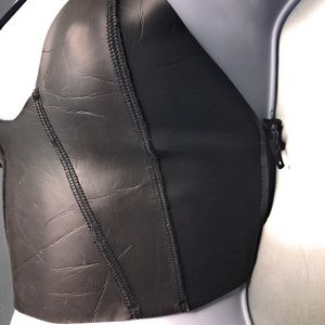 Mikoh Swim - Mikoh Neoprene Bikini Top Zippers on Sides